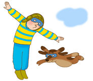 ginástica da criança Imagem de Stock