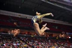 2015 ginástica das senhoras do NCAA - WVU Fotografia de Stock