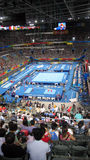 Ginástica de homens em jogos de Beijing Paralympic Foto de Stock