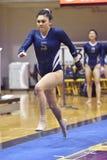 2015 ginástica do NCAA - estado de WVU-Penn Fotografia de Stock
