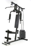 Ginástica e máquina do músculo fotografia de stock royalty free