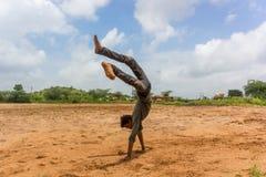 Ginástica rural - Índia Imagens de Stock