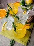 Gin cocktails Stock Image
