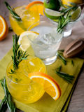 Gin cocktails Royalty Free Stock Photo
