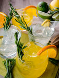 Gin cocktails Royalty Free Stock Images
