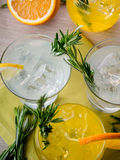Gin cocktails Royalty Free Stock Photos