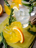Gin cocktails Stock Photo