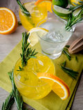Gin cocktails Stock Photography