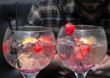 Gin für zwei Lizenzfreie Stockbilder