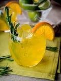 Gin and orange Stock Photos