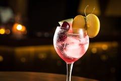 Gin tonic fotografering för bildbyråer