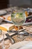 Gin tonic arkivbild
