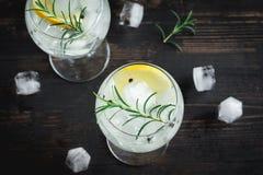 Gin Tonic-Cocktail stockfoto