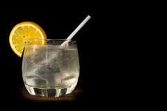 Gin tonic coctail Royalty Free Stock Photo