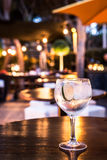 Gin Tonic. Great Gin Tonic in a night pub stock photo