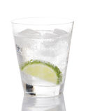 Gin And Tonic With Lime Stock Images