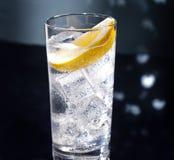 Gin Tonic o Tom Collins Fotografia Stock Libera da Diritti