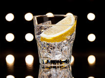 Gin Tonic or Tom Collins Royalty Free Stock Photography
