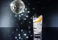 Gin Tonic or Tom Collins Royalty Free Stock Photo