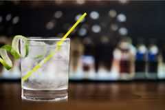 Gin royalty free stock photos