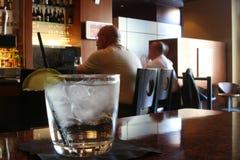 gin z tonikiem Fotografia Royalty Free