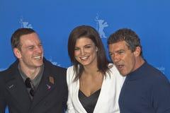 Gina Carano, Antonio Banderas, Michael Fassbender Royalty Free Stock Image