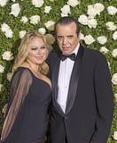 Gina Ranaudo en Chazz Palminteri Royalty-vrije Stock Afbeelding