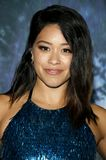 Gina Rodriguez. At the Los Angeles premiere of `Annihilation` held at the Regency Village Theater in Westwood, USA on February 13, 2018 Royalty Free Stock Image
