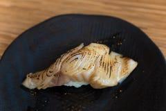 Gindara sushi Royaltyfri Fotografi