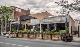 Ginderrestaurant Stock Foto's