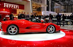 La Ferrari de FERRARI Foto de archivo libre de regalías