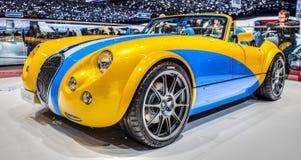 Ginebra Motorshow 2012 - automóvil descubierto MF3 de Weismann Fotos de archivo
