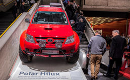 Ginebra Motorshow 2012 - Hilux polar Imagenes de archivo
