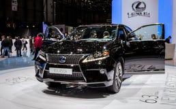 Ginebra Motorshow 2012 - Lexus RX 450h Imagenes de archivo