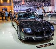 Ginebra Motorshow 2012 - Maserati Quattroporte Fotos de archivo