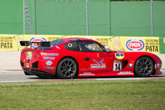 Ginetta G50  CUP PRO GT4 RACE CAR Stock Image