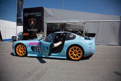 Ginetta G50 GT4 RACERBIL Royaltyfri Fotografi