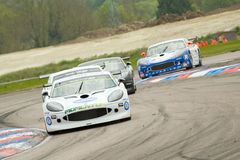 Ginetta sports cars Stock Photo