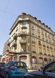 Ginevra, città svizzera popolare Fotografia Stock