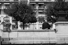 Ginevra del centro Fotografia Stock Libera da Diritti