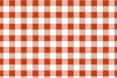 Gingang Oranje en Wit Patroon Textuur van ruit/vierkanten voor - plaid, tafelkleden, kleren, overhemden, kleding, document en and royalty-vrije illustratie