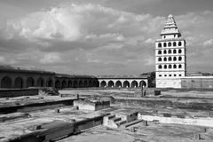 Gingee Fort. Kalyana Mahal at Gingee Fort in Tamil Nadu, India Royalty Free Stock Photography