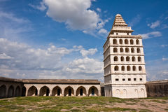 Gingee Fort. Kalyana Mahal at Gingee Fort in Tamil Nadu, India Royalty Free Stock Image
