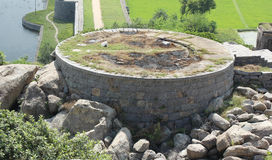 Gingee Fort battlement Royalty Free Stock Photo