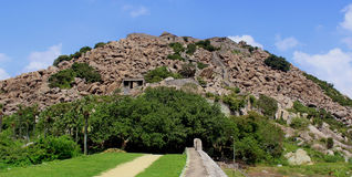 Gingee Fort  hill Stock Image