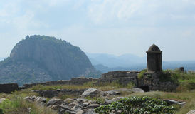Gingee Fort hill Royalty Free Stock Photo