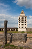 Gingee Fort Square. Kalyana Mahal at Gingee Fort in Tamil Nadu, India Stock Photos