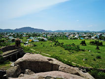 Gingee fort in Tamil Nadu, India stock photos