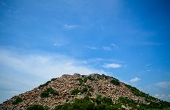 Gingee Fort in Tamil Nadu, India royalty free stock photography