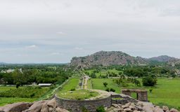 Gingee Fort stock images